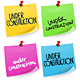 Under Construction Sticky Note - GraphicRiver Item for Sale