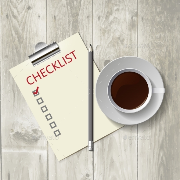Coffee and Checklist - Web Technology