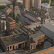 Abandoned Mining Factory Aerial Drone - VideoHive Item for Sale
