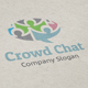 Crowd Chat logo - GraphicRiver Item for Sale