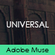 Universal - Creative Muse Template Nulled