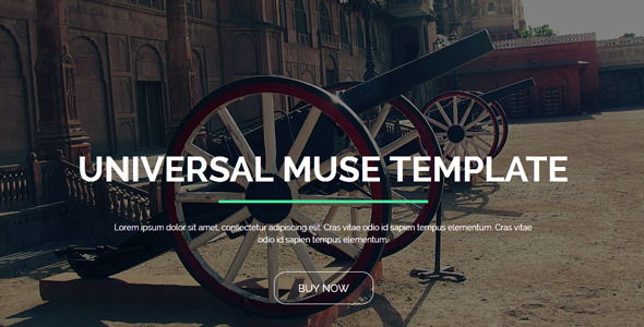 Universal – Creative Muse Template