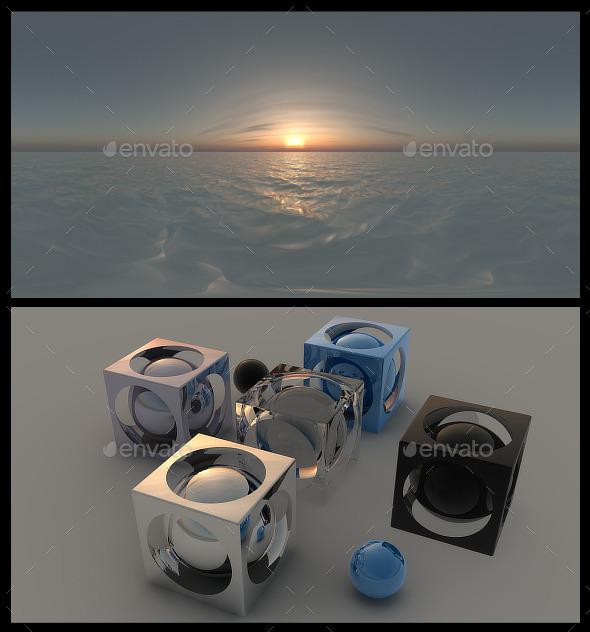 Ocean Dawn HDRI - 3DOcean Item for Sale