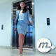 Young Woman Out of the Elevator in Office Building - VideoHive Item for Sale