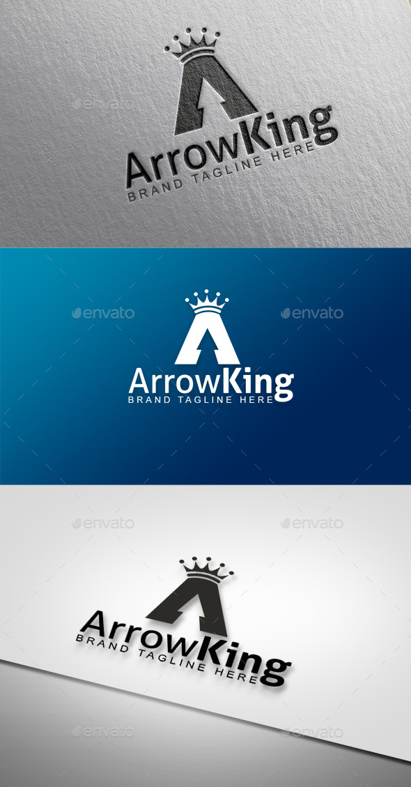 Arrow King - Objects Logo Templates