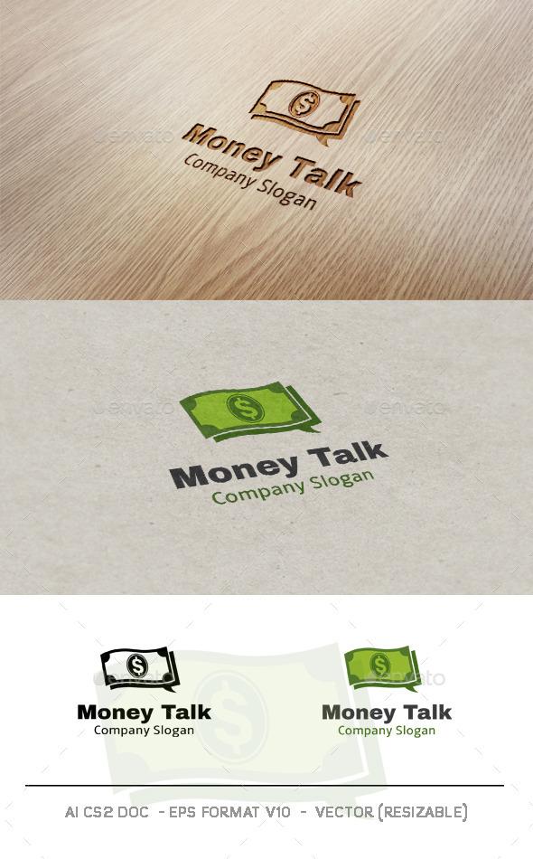 Money Talk logo - Objects Logo Templates
