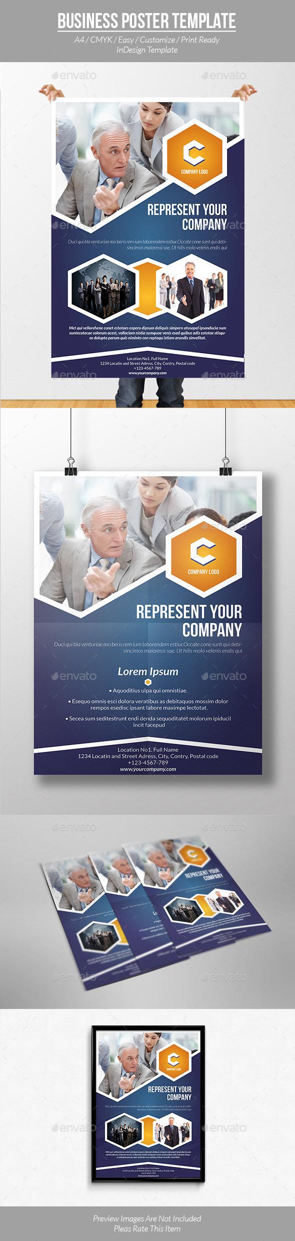 Informational Poster Brochure Template - Informational Brochures