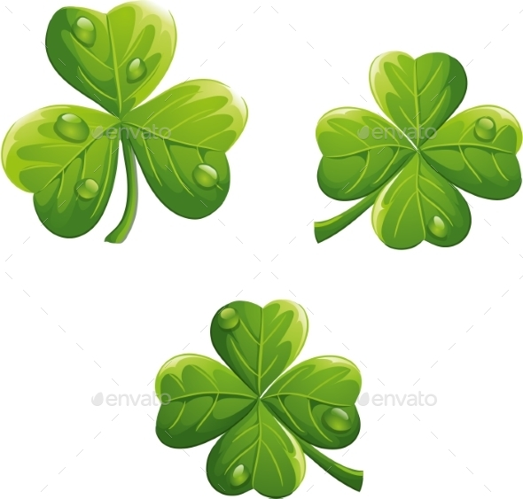 St. Patricks Day Clovers - Valentines Seasons/Holidays