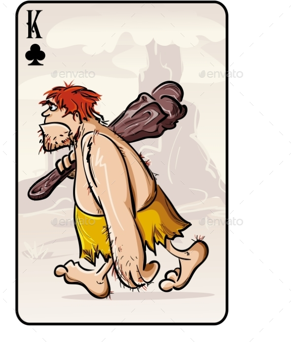 Playing Card - People Characters