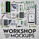 Workshop Tool Set Mock-Ups - GraphicRiver Item for Sale