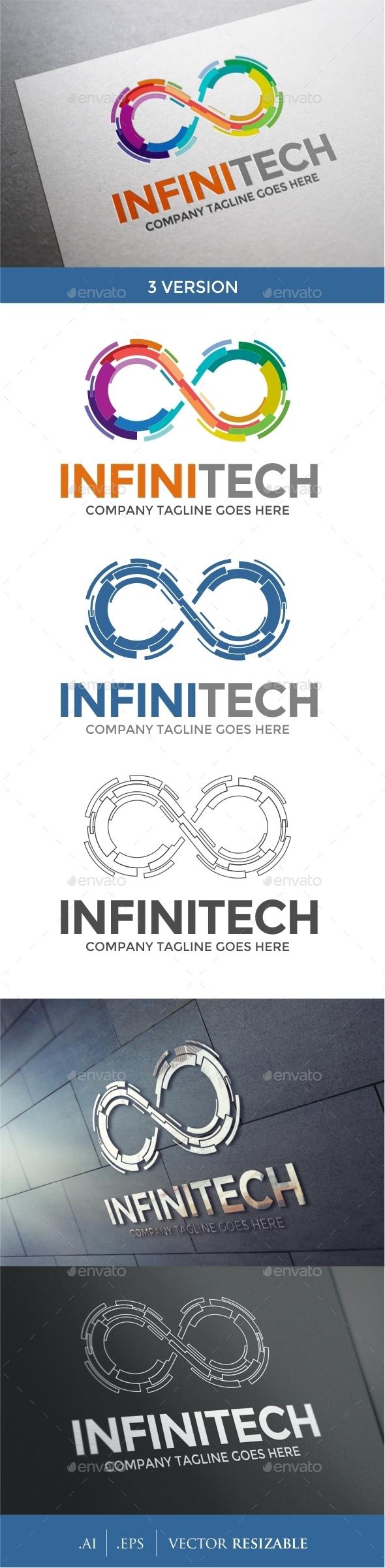 Infinity Logo Template - Abstract Logo Templates