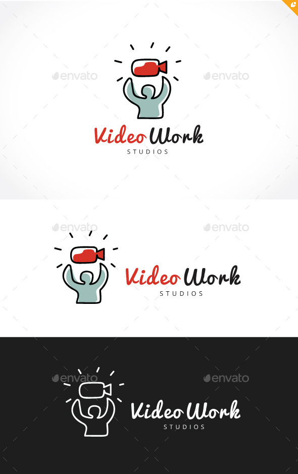 Video Work - Humans Logo Templates