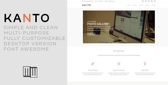 Kanto - Corporate Muse Template