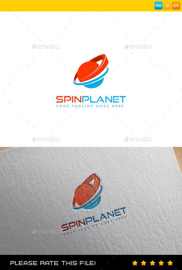 Planet Logo - Vector Abstract