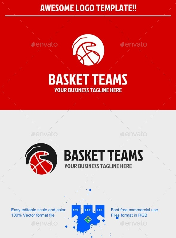 Basketball Logo - Humans Logo Templates
