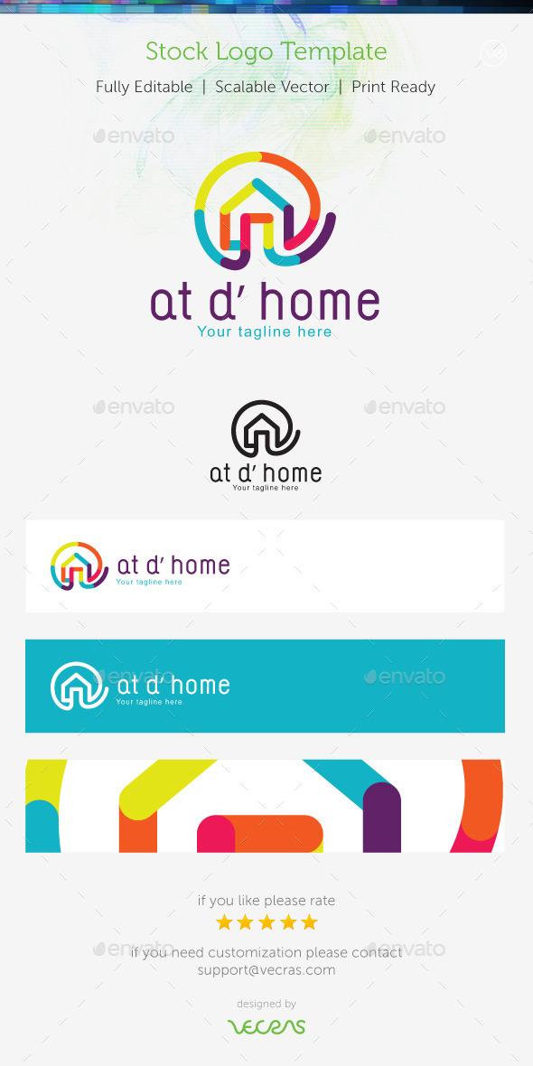 Home Logo - Buildings Logo Templates