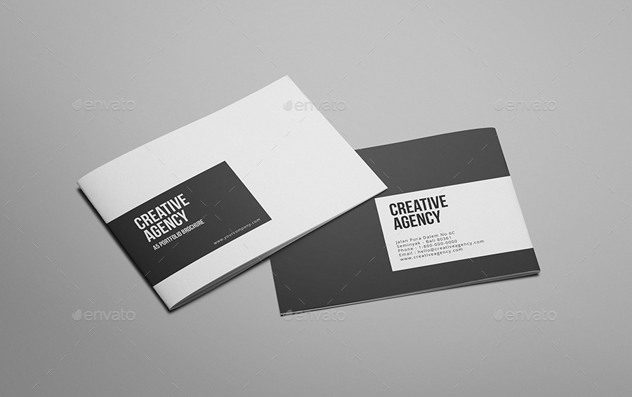 Creative Agency A Portfolio Brochure By Giantdesign GraphicRiver - Portfolio brochure template