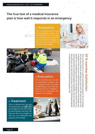 Insurance Companies Multipurpose Brochure Template By Designsmill - Insurance brochure template