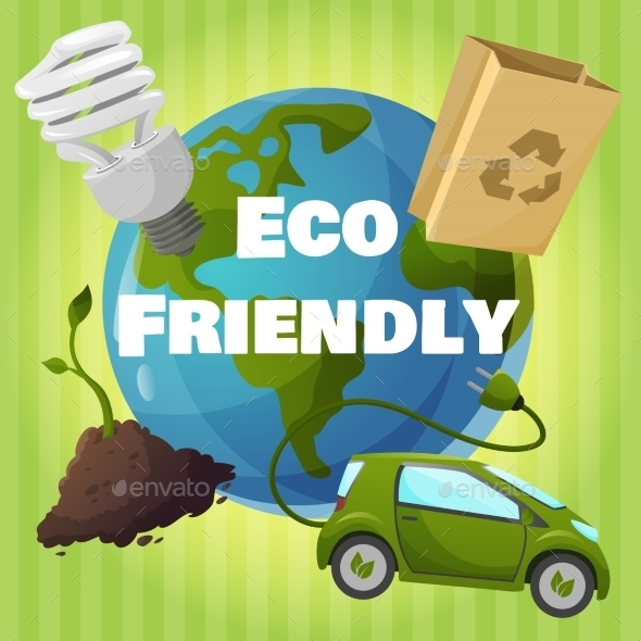 Eco Friendly Poster - Technology Conceptual