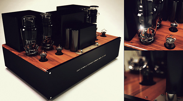 Amplifier - 3DOcean Item for Sale