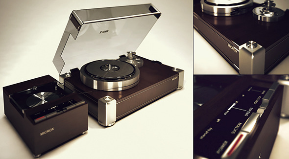 Turntable - 3DOcean Item for Sale