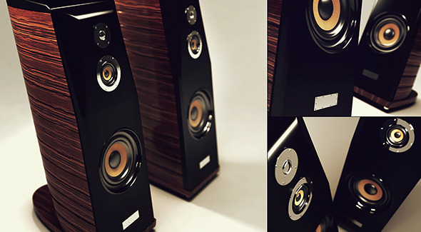 Speaker hi-fi - 3DOcean Item for Sale