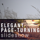 Elegant Page-Turning Slideshow