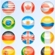 Flags Buttons - GraphicRiver Item for Sale