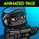 Soldier Pack Animated Spritesheet - GraphicRiver Item for Sale