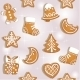 Seamless Texture of Christmas Gingerbread - GraphicRiver Item for Sale