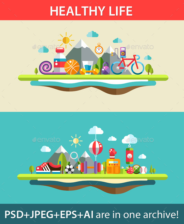 Sports and Landscape - Sports/Activity Conceptual