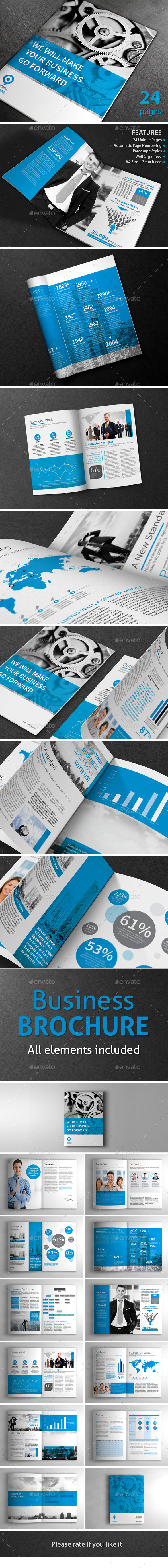 Business Template Brochure - Brochures Print Templates