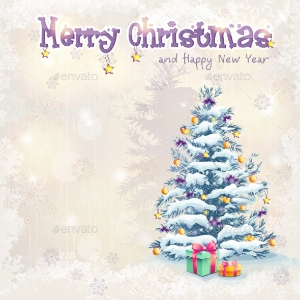 Greeting Card for Christmas and New Year - Christmas Seasons/Holidays