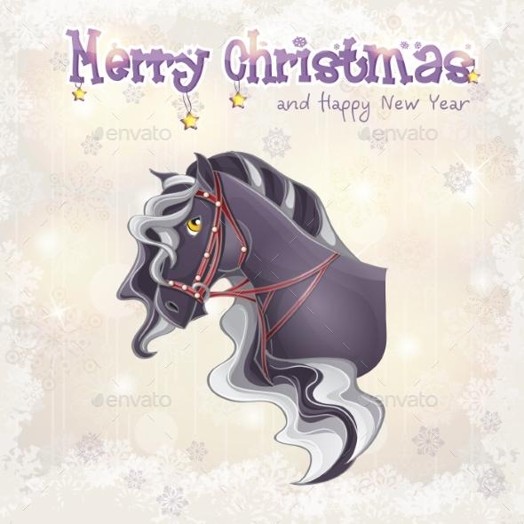 Card for Christmas and New Year - Christmas Seasons/Holidays