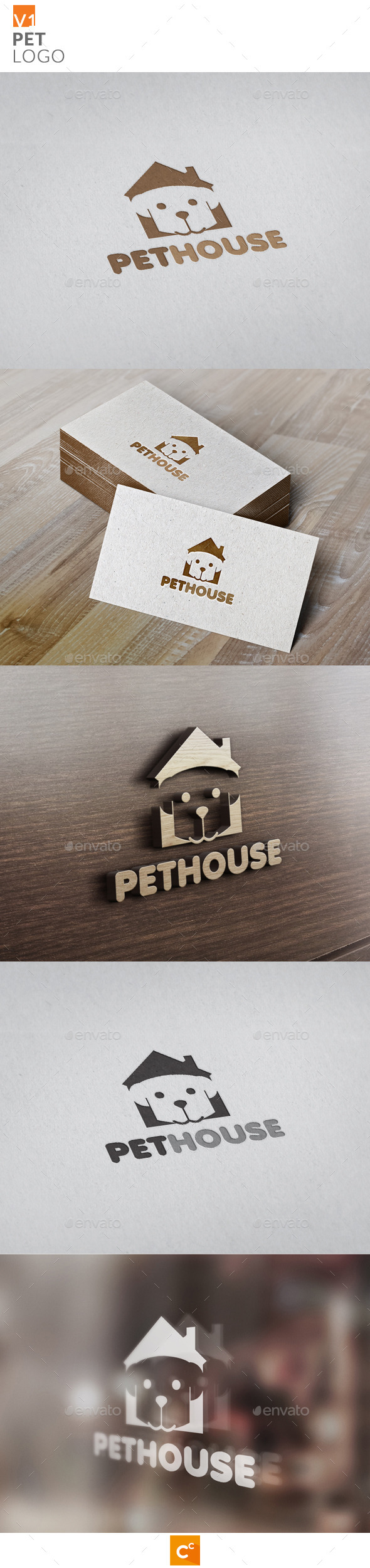 Pets Logo - Animals Logo Templates