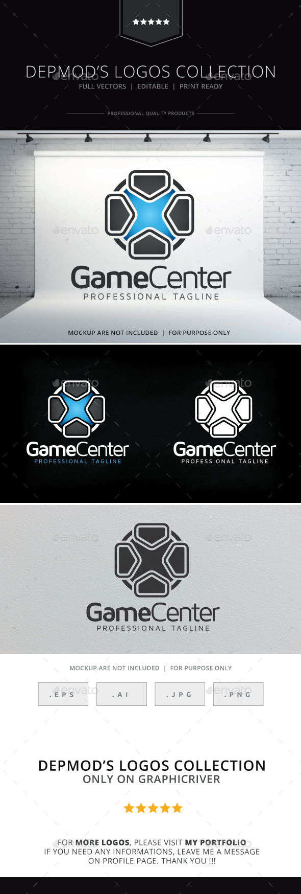 Game Center Logo