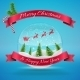 Merry Christmas Crystal Snowglobe - GraphicRiver Item for Sale