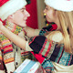 Loving Couple Hold Christmas Presents - VideoHive Item for Sale