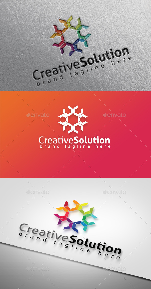 Creative Solution - Abstract Logo Templates