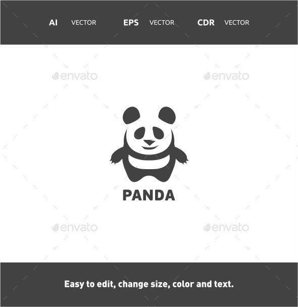 Panda - Animals Logo Templates