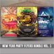 New Year Party Flyers Bundle Vol. 1 - GraphicRiver Item for Sale