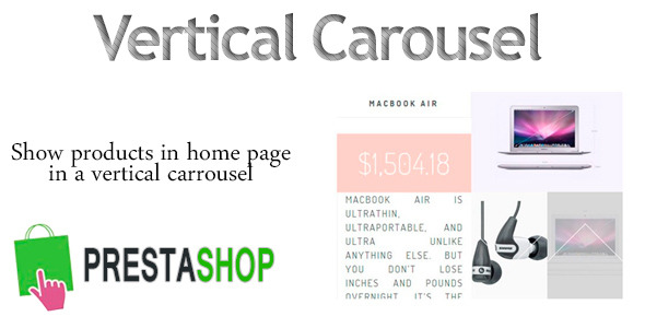 Prestashop VerticalCarrousel - CodeCanyon Item for Sale