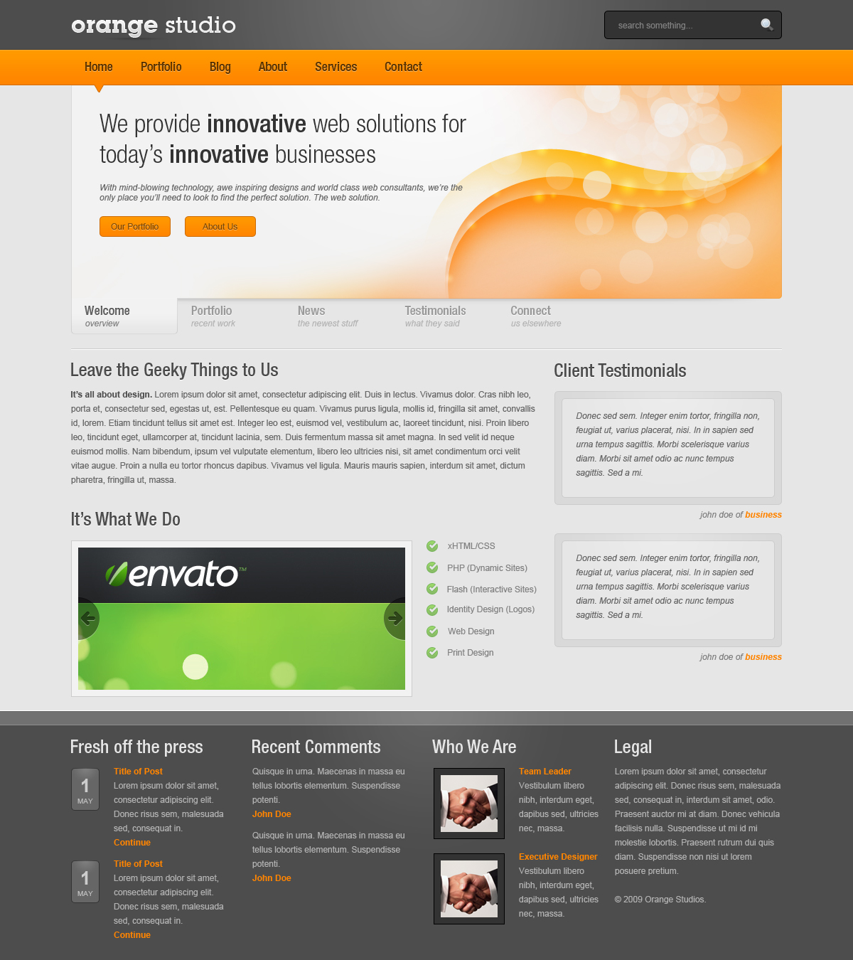 Free Download Orange Nulled Latest Version