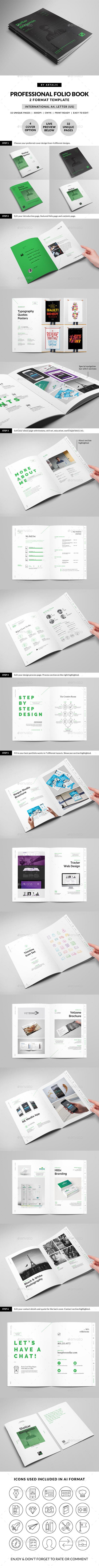 Stellar Portfolio - 32 Pages Booklet - Portfolio Brochures