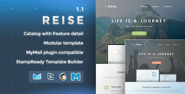 Reise – Responsive Email Template