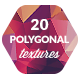 20 Low-Poly Polygonal Background Textures #3 - GraphicRiver Item for Sale