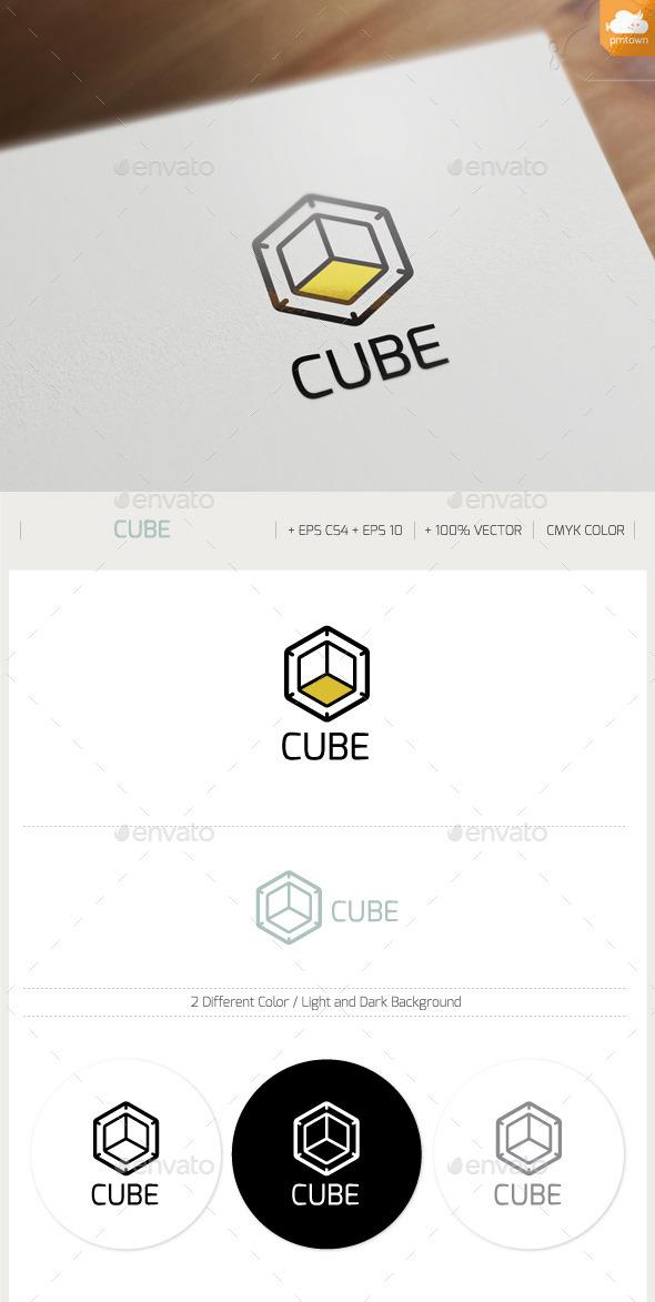 Cube Logo - Objects Logo Templates