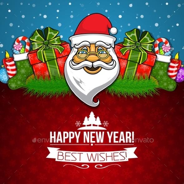 New Year Holiday Background - New Year Seasons/Holidays