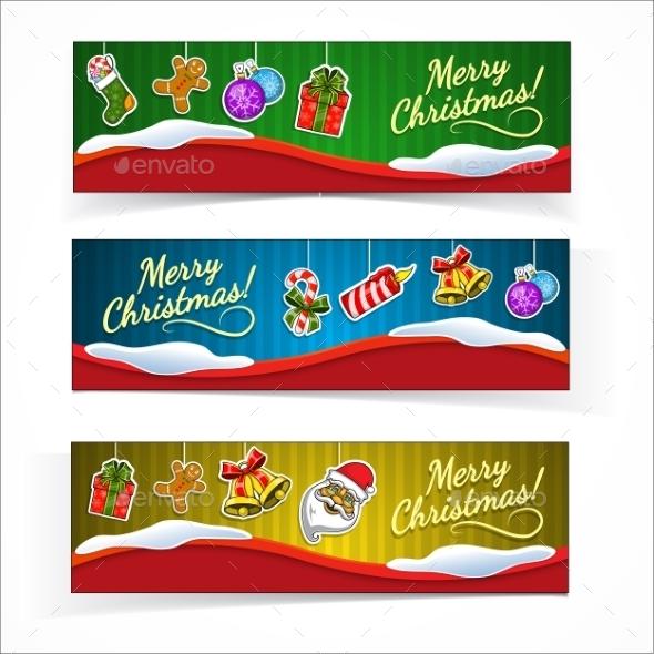 Christmas banners. - Christmas Seasons/Holidays