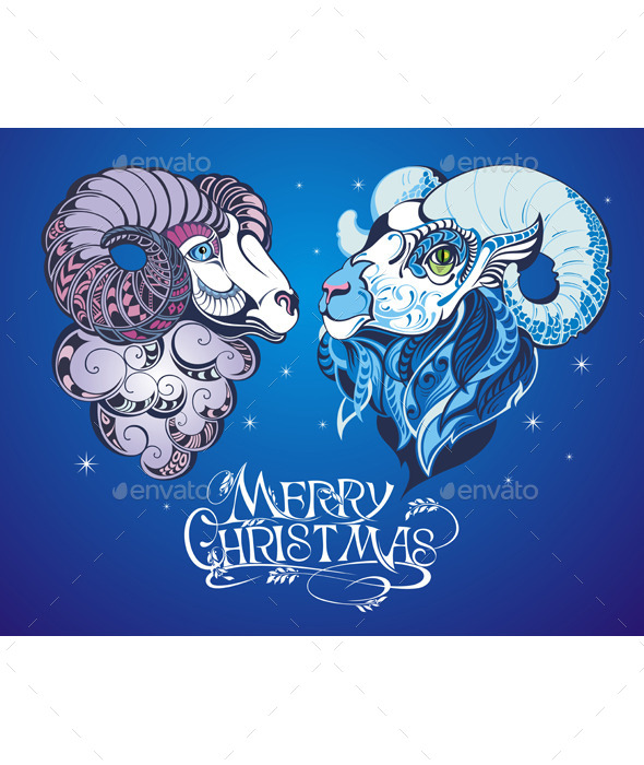 Sheep Goat  - Christmas Seasons/Holidays